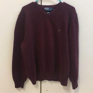 Polo Ralph Lauren Men's V-Neck Sweater Size XXL